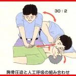 BLS(一時救命処置)の方法2 ~心臓マッサージ~